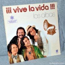 Discos de vinilo: LOS ALBAS - LP VINILO 12'' - ¡VIVE LA VIDA! - EDITADO EN ESPAÑA - IMPACTO 1978. Lote 101778131