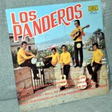 Discos de vinilo: LOS PANDEROS - LP VINILO 12'' - EDITADO EN ESPAÑA - 12 TRACK - FONAL 1972. Lote 101778271