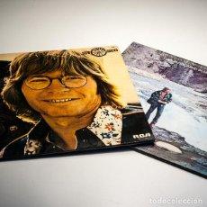Discos de vinilo: LOTE DE 2 LPS DE JOHN DENVER / WINDSONG / ROCKY MOUNTAIN HIGH. Lote 101785491