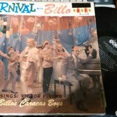 Discos de vinilo: CARNAVAL CON BILLO. VICTOR PIÑERO.VENEZUELA. Lote 101785848