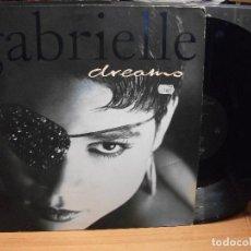 Discos de vinilo: GABRIELLE DREAMS MAXI GERMANY 1993 PDELUXE. Lote 101788543
