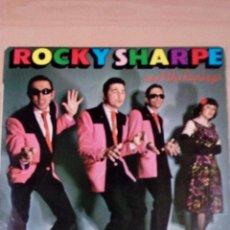 Discos de vinilo: ROCKY SHARPE - RAMA LAMA - BUEN ESTADO - VER FOTOS. Lote 101791863