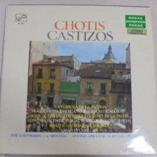 Discos de vinilo: LP. CHOTIS CASTIZOS. JOSE LUIS NAVARRO Y SU ORQUESTA. 1970. ZAFIRO. Lote 101819951