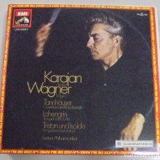 Discos de vinilo: LP. KARAJAN DIRIGIERT WAGNER FOLGE 1. LA VOZ DE SU AMO. 1976. Lote 101823135