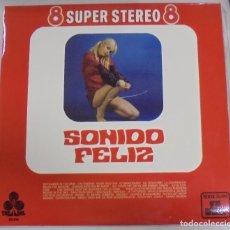 Discos de vinilo: LP. SONIDO FELIZ. 8 SUPER STEREO 8. TREBOL. 1970. Lote 101837755