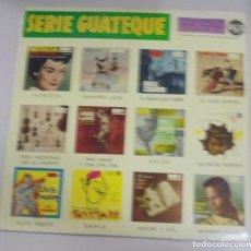 Discos de vinilo: LP. SERIE GUATEQUE. PATRICIA / DANUBIO AZUL / EL PIANO DEL POBRE / EL GATO MONTES. 1959. RCA. Lote 101838403
