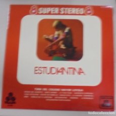 Discos de vinilo: LP. ESTUDIANTINA. 8 SUPER STEREO 8. TREBOL. 1970. Lote 101844955