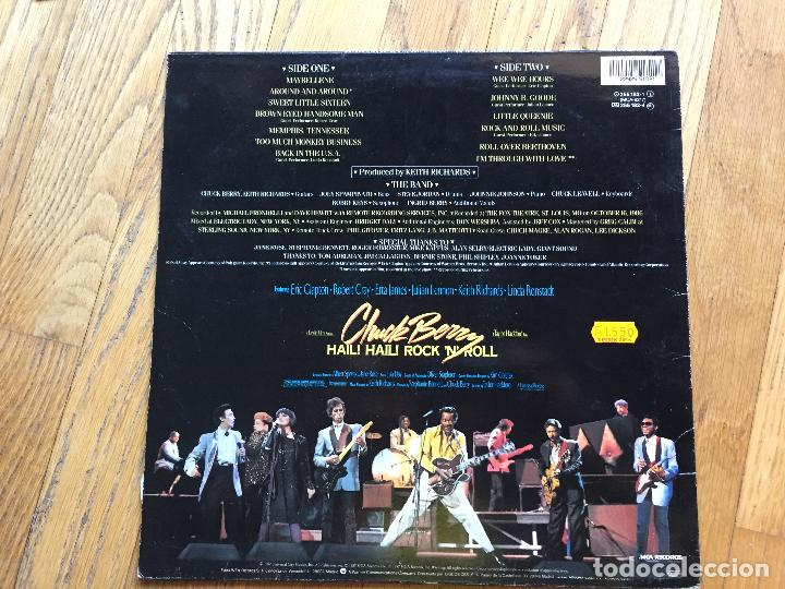 Discos de vinilo: CHUCK BERRY, Hail Hail, Rock N Roll - Foto 3 - 101850687