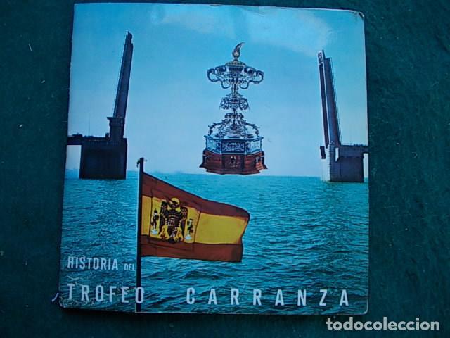 HISTORIA DEL TROFEO CARRANZA CON DISCO (Música - Discos - Singles Vinilo - Clásica, Ópera, Zarzuela y Marchas)