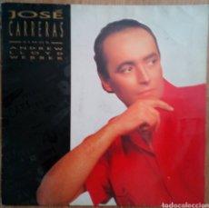 Discos de vinilo: JOSÉ CARRERAS 1989 SINGS - ANDREW LLOYD. FRANCE. Lote 101842960