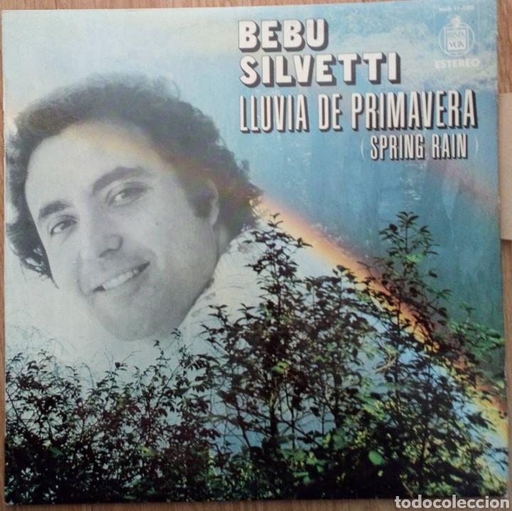BEBU SILVETTI. LLUVIA DE PRIMAVERA 1977. SPAIN HISPAVOX. SPRING RAIN (Música - Discos - LP Vinilo - Grupos y Solistas de latinoamérica)