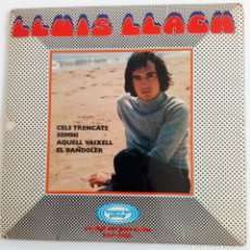 Discos de vinilo: LUIS LLACH 1970 SINGLE CON 4 CANCIONES. ESPAÑA. DOBLE CARPETA. MOVIE PLAY. Lote 101908148