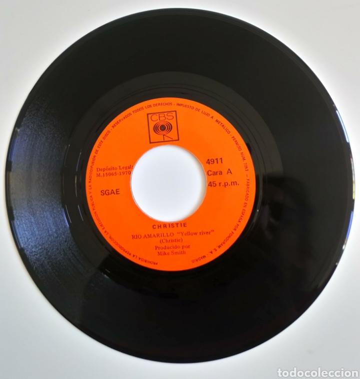 Discos de vinilo: YELOW RIVERA. CHRISTIE 1970 DOWN THE MISSISSIPPI LÍNE - Foto 3 - 101919280
