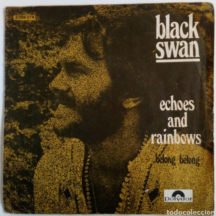 BLACK SWAN 1971 ECHOES RAIN BOWS. DOR DURUM. BELONG (Música - Discos - Singles Vinilo - Pop - Rock - Extranjero de los 70)