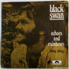 Discos de vinilo: BLACK SWAN 1971 ECHOES RAIN BOWS. DOR DURUM. BELONG. Lote 101919932