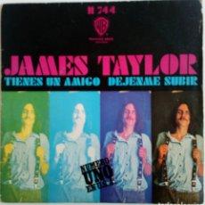 Discos de vinilo: JAMES TAYLOR 1971 TIENE UN AMIGO, DÉJAME SUBIR. HISPAVOX ESPAÑA. Lote 101920644