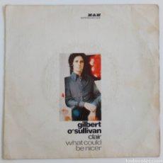 Discos de vinilo: GILBERT O' SULLIVAN 1972 CLAIR. WHAT COULD BE NIECER. ESPAÑA. Lote 101933470