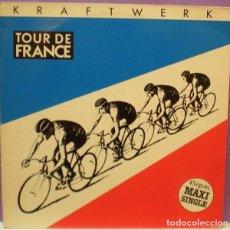 Discos de vinilo: KRAFTWERK - TOUR DE FRANCE - MAXI SINGLE 45 RPM. Lote 101935723