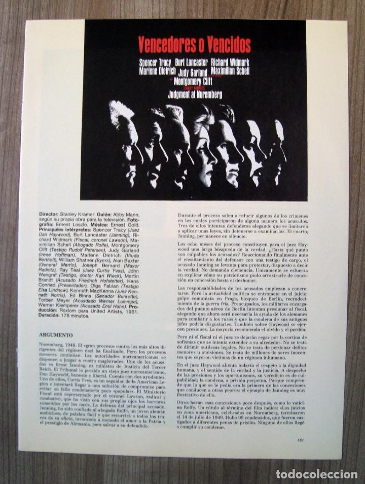 Discos de vinilo: musica, Disco vinilo, lp, banda sonora pelicula vencedores o vencidos, judment at nuremberg, cine - Foto 3 - 101937723