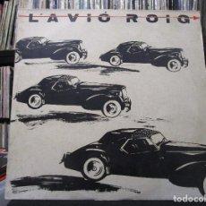 Discos de vinilo: L'AVIO ROIG / COCHES NEGROS MAXI. Lote 101943299