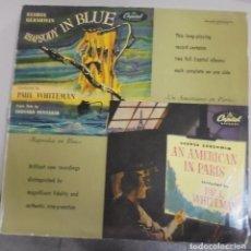 Discos de vinilo: LP. RHAPSODY IN BLUE / AN AMERICAN IN PARIS. CAPITOL RECORDS. Lote 101957351