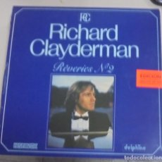 Discos de vinilo: LP. RICHARD CLAYDERMAN. REVERIES Nº 2. 1982. HISPAVOX. Lote 101958071
