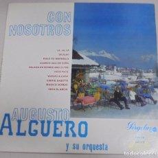 Discos de vinilo: MAXI SINGLE. CON NOSOTROS. AUGUSTO ALGUERO Y SU ORQUESTA. 1968. Lote 101959851