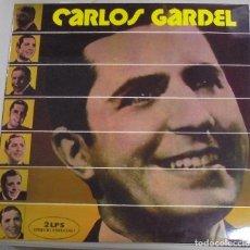 Discos de vinilo: LP DOBLE. CARLOS GARDEL. SUS GRANDES CREACIONES. 1974. RCA. Lote 101960615