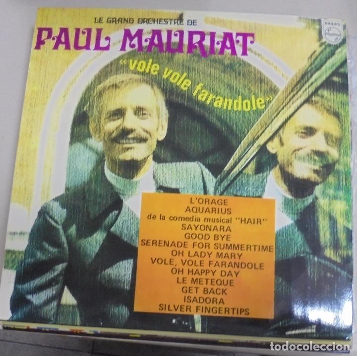 LP. LA GRAND ORCHESTRE DE PAUL MAURIAT. VOLE VOLE FARANDOLE. 1969. FONOGRAM (Música - Discos - LP Vinilo - Orquestas)
