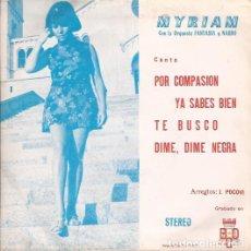 Discos de vinilo: EP- MYRIAM POR COMPASION BCD 556 SPAIN 1971 PROMO. Lote 101967571