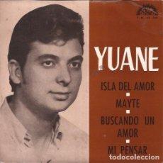 Discos de vinilo: EP- YUANE ISLA DE AMOR BERTA 236 SPAIN 1973 PROMO. Lote 101968071