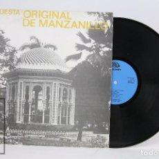 Discos de vinilo: DISCO LP VINILO - ORQUESTA ORIGINAL DE MANZANILLO - SIBONEY. Lote 101976767