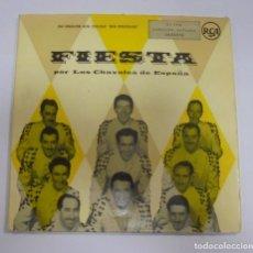 Discos de vinil: SINGLE. DOBLE. FIESTA POR LOS CHAVALES DE ESPAÑA. RCA. Lote 101981995