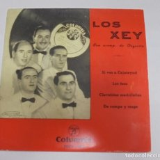 Discos de vinilo: SINGLE. LOS XEY. CON ACOMPAÑAMIENTO DE ORQUESTA. COLUMBIA. Lote 101982039