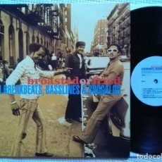 Discos de vinilo: VARIOUS '' BROASTED OR FRIED: LATIN BREAKBEATS, BASSLINES & BOOGALOO '' VINYL 2 LP 2000 UK. Lote 101982675