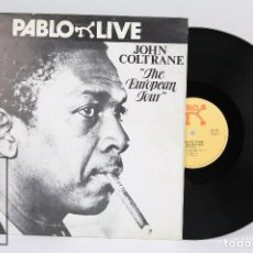 Discos de vinilo: DISCO LP VINILO DE JAZZ - JOHN COLTRANE, THE EUROPEAN TOUR - PABLO LIVE, AÑO 1980. Lote 178843611