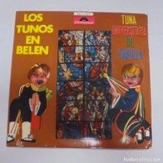 Discos de vinilo: SINGLE. LOS TUNOS EN BELEN. TUNA UNIVERSITARIA DE CASTILLA. POLYDOR. Lote 101983571