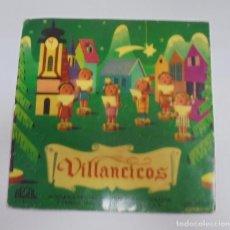 Discos de vinilo: SINGLE. VILLANCICOS. ESCOLANIA DE NTRA. SRA. DEL SAGRADO CORAZON Y CAPILLA CASICLA. REGAL. Lote 101983659