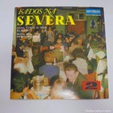 Discos de vinilo: SINGLE. FADOS NA SEVERA. 2. DISCOS ESTUDIO.. Lote 101984347