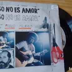 Vinyl-Schallplatten - SINGLE VINILO) DE PABLO MILANÉS AÑOS 80 - 101986599