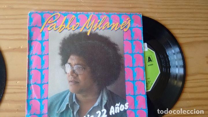 SINGLE (VINILO) DE PABLO MILANÉS AÑOS 80 (Música - Discos - Singles Vinilo - Grupos y Solistas de latinoamérica)