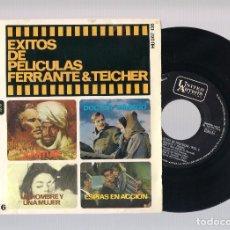 Discos de vinilo: EXITOS DE PELICULAS FERRANTE & TEICHER VOL.6 - UN HOMBRE Y UNA MUJER + KARTUM... (EP 7'' 1966). Lote 101988707
