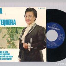 Discos de vinilo: NIÑA DE ANTEQUERA - EN UNA NOCHE DE LUNA + DE NOCHE LAS CARACOLAS + NO ES LA FLOR.... (EP 7'' 1969). Lote 101990019