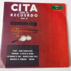 Discos de vinilo: CITA CON EL RECUERDO VOL. II - OLVIDO. Lote 101995211