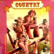 Discos de vinilo: LP COUNTRY VARIOS CANTANTES. Lote 101999451