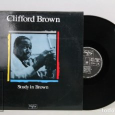 Discos de vinilo: LP VINILO DE JAZZ - CLIFFORD BROWN, STUDY IN BROWN - EMARCY, 1955. Lote 101999523