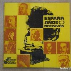Discos de vinilo: DISCO VINILO ESPAÑA - AÑOS DECISIVOS (1920-1939) - LP 1972. Lote 102004399