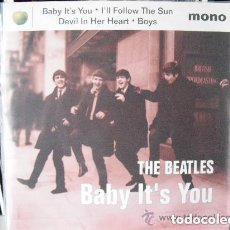 Discos de vinilo: BEATLES - BABY IT´S YOU + 3 (EP) CAPITOL 1995 . Lote 102005047
