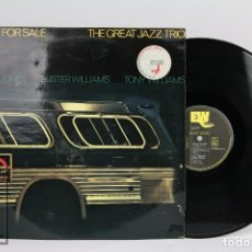 Discos de vinilo: LP VINILO DE JAZZ - LOVE FOR SALE, THE GREAT JAZZ TRIO - EAST WIND, 1976. Lote 102006207