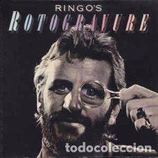 Discos de vinilo: RINGO STARR - RINGO'S ROTOGRAVURE (LP, ALBUM, GAT) LABEL:POLYDOR CAT#. Lote 102010259